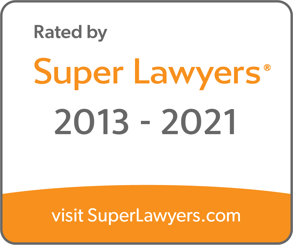 Super Lawyers 2013 - 2021